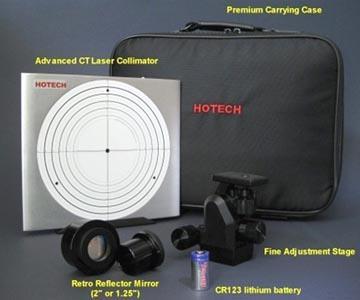Hotech Advanced Cassegrain Laser Collimator for 2