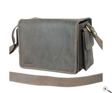 4311f8be9ff Teleskop-Express  Kalahari KAAMA L-14 Camera Bag and Shoulder Bag made of  Leather
