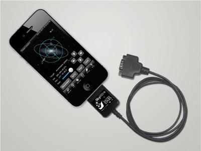 Iphone Entfernungsmesser Kabel : Teleskop express: skywire goto mit iphone ipad und ipod touch