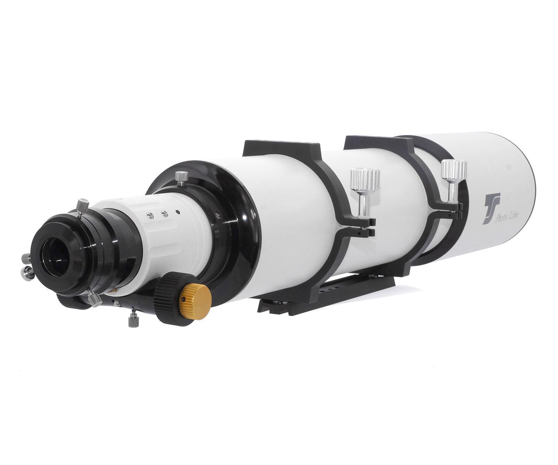 """New ! Rifrattore TS PHOTOLINE tripletto APO 130/915mm f/7 - FPL-53 - con focheggiatore a pignone e cremagliera da 2.5"""""""