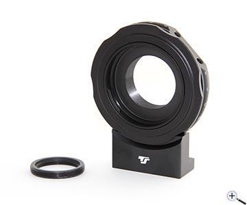 Teleskop express: ts ccd kamera adapter mit t2 anschluss für canon