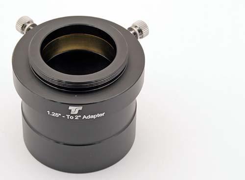 """Adattatore TS da 2"""" a 31,8mm con filetto aggiuntivo T2"""