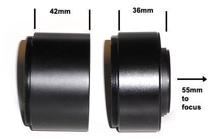 """Spianatore di campo universale TS da 2.5"""" per rifrattori da f/5 a f/9 - per sensori di grande formato"""
