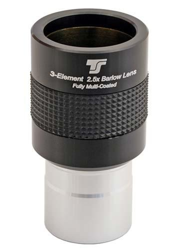 Lente di Barlow APOcromatica TS Optics da 31,8mm - 2.5x - design a 3 lenti