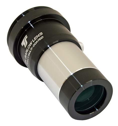 Lente di Barlow acromatica TS Optics da 31,8mm - con filetto T2 per fotografia