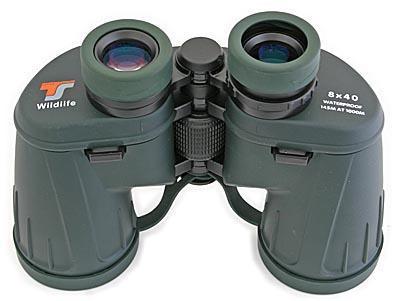 Teleskop express: ts 8x40 wildlife outdoor fernglas gummiarmiert