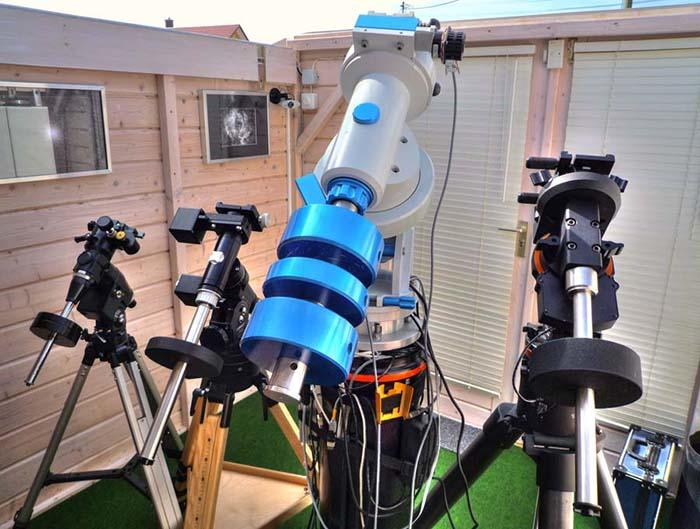 Teleskop express celestron teleskop astrograph rasa auf