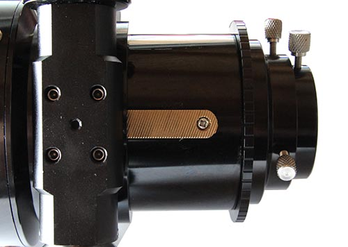"""Focheggiatore TS da 3"""" a pignone e cremagliera - capacità di carico 6kg - escursione da 110mm"""