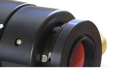 """Focheggiatore Crayford UNCN TS corto da 2"""" per newton - carico fino a 5kg"""