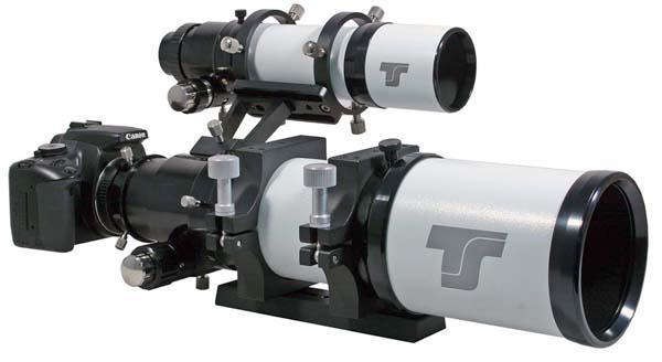 """Tripletto Super APO FPL-53 TS 80mm f/6.25, focheggiatore da 2.5"""" e tubo modulare con 3 posizioni di fuoco"""