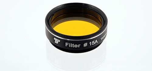 Filtro TS da 31,8mm Colorato - Giallo Scuro #15