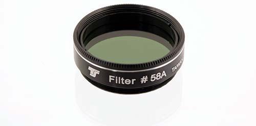 Filtro TS da 31,8mm Colorato - Verde Scuro #58
