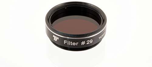 Filtro TS da 31,8mm Colorato - Rosso Scuro #29