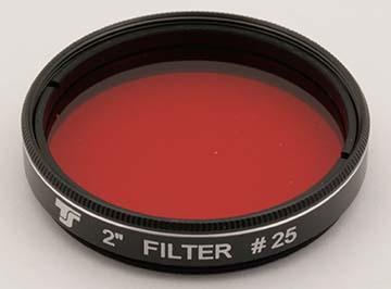 Filtro TS da 50,8mm Colorato - Rosso #25