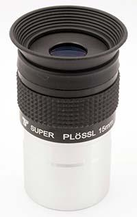 "TS Super Plöss - 15mm lunghezza focale - 1.25"" - 52° FOV - Fully Multi Coated"
