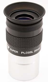 "TS Super Plöss - 20mm lunghezza focale - 1.25"" - 52° FOV - Fully Multi Coated"