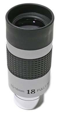 """TS Paragon ED 18mm - 1.25"""" - 50° di campo visivo apparente ed estrazione pupillare di 20mm"""