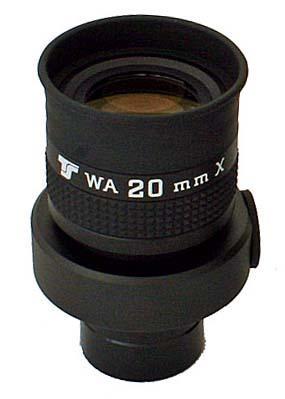 Oculare TS da 20mm con reticolo - ERFLE 70° - 31,8mm - illuminabile