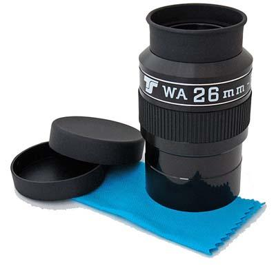 """Oculare TS WA Wide Angle da 70°- 2"""" - 26mm lunghezza focale"""