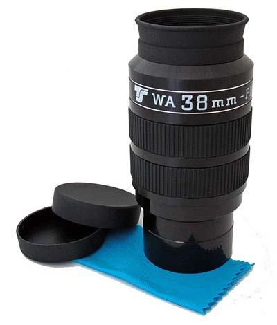 """Oculare TS WA Wide Angle da 70°- 2"""" - 38mm lunghezza focale"""