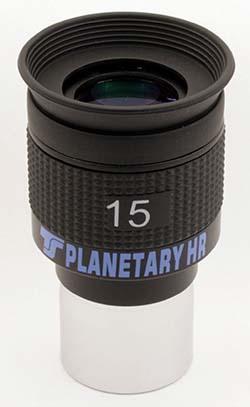 """Oculare planetario TS Optics HR Planetary UWA - 60° FOV - 1.25"""" - 15mm di lunghezza focale"""