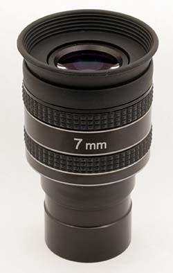 """Oculare planetario TS Optics HR Planetary UWA - 60° FOV - 1.25"""" - 7mm di lunghezza focale"""