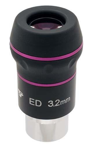 """Oculare planetario TS N-ED da 1.25"""" - 60° FOV - lunghezza focale 3mm"""