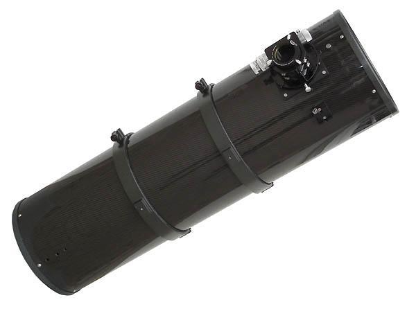 """TS 10"""" f/6.4 Newton ONTC con tubo in fibra di carbonio - 1/8 lambda p/v e focheggiatore a scelta"""