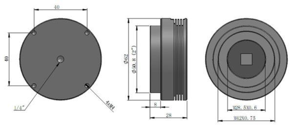 ASI 120 MC-S colore dimensioni
