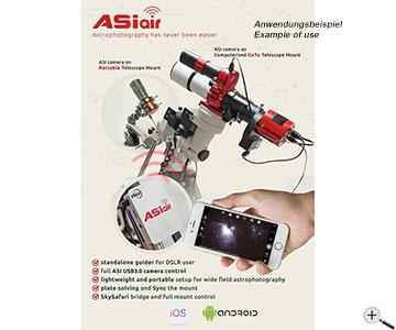 ZWO ASIAIR WiFi device to control ASI camera and mount via Tablet or  Smartphone